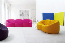 design swivel chair by Pierre Paulin PUMPKIN Ligne Roset France