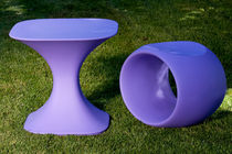 design table and chair set for garden CERO by Brian Steendyk Serralunga 1825