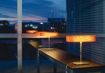 design table lamp in wood I-CLUB by Burkhard Dämmer Lzf-Lamps