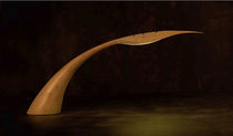 design table lamp in wood ICAR (DESK) Wood & Light by Omar Sherzad