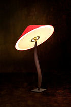 design table lamp in wood SWO (TABLE) Wood & Light by Omar Sherzad