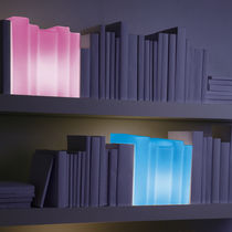 design table lamp (blown glass, handmade) BIBLIO MULTICOLOR LIGHT 22 22 EDITION DESIGN