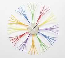design wall clock SYNAPSE MULTICOLORE KARE Design