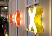 design wall light (wood) X-CLUB by Burkhard Dämmer Lzf-Lamps