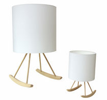 design wooden floor lamp ROCKING by Young & Battaglia Studiomold
