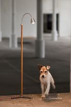 design wooden floor lamp ATHENE® 700.15 less'n'more