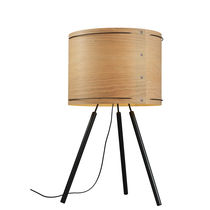design wooden table lamp (tripod) DOUBLE WIRE by Arik Levy FORESTIER