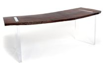 design writing desk in wood RECLAIMED WOOD FLOATING Rotsen Furniture