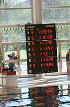 digital scoreboard for swimming MICROBUS 8-165 Malmsten