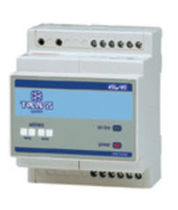 DIN rail programmable thermostat EWTV200 Eliwel Controls