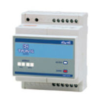 DIN rail programmable thermostat EWTV240 Eliwel Controls