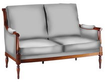 Directoire classic style sofa DIRECTOIRE DELAROUX 