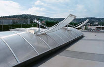 dome for natural lighting with smoke evacuation system (for flat roofs)  ESSMANN ® ARCADE ROOFLIGHT TYPE 940/1 LJ Pratley & Partners Ltd