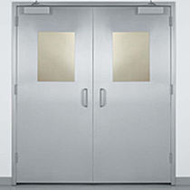 door for clean rooms PHARMA-SWING® PSS Rytec