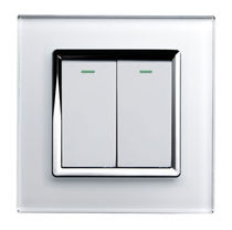double light switch (glass finishing) RTS2005 retrotouch