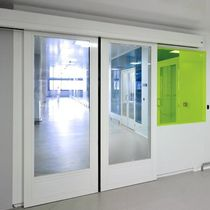 double-swing door for commercial buildings CLESTRA CLESTRA CLEANROOM