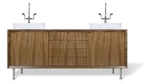 double washbasin cabinet VANITIES Grey Design Studio