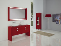 double washbasin cabinet KOBE 140 cm. MACRAL