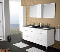 double washbasin cabinet NEW SEVILLA Salgar