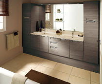 double washbasin cabinet PURA DOOR STYLE  AMBIANCE BAIN