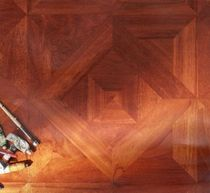 doussie engineered wood floor tile VIENNA  L'ARTE NEL PARQUET DI LATTANZIO G.