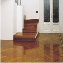 doussie solid wood flooring HERRINGBONE DOUSSIE FOREST PARCHETTIFICIO