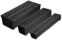 drain channel with grating CARE15 GLS Prefabricados