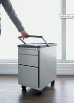drawer pedestal with casters CADDI_STOR_RADIUS_1 Office Specialty