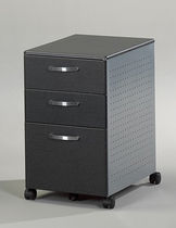 drawer pedestal with casters 992ANT MAYLINE