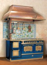 dual fuel range cooker/boiler (wood burning, gas, electric) GGL145 2F RESTART
