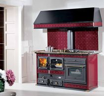 dual fuel range cooker/boiler (wood burning, gas, electric) THERMO EMMANUELLE Wanders