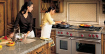 dual gas and electric range cooker 48&quot; SUB-ZERO