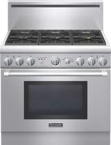 dual gas and electric range cooker PRD366GHU  Thermador