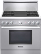 dual gas and electric range cooker PRD364GDHU Thermador