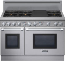 dual gas and electric range cooker PRD486GDHU  Thermador