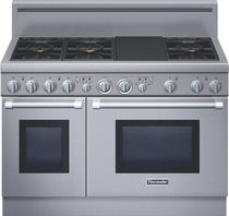 dual gas and electric range cooker PRL486GDH  Thermador