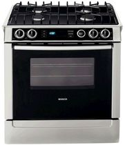 dual gas and electric range cooker HDI7052U BOSCH
