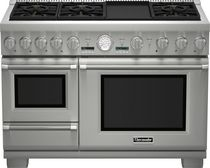dual gas and electric range cooker PRD48JDSGU Thermador