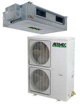 duct air conditioner (split system, reversible) DXE AERMEC
