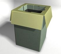 dust-bin for public spaces WS-300 Wausau Select