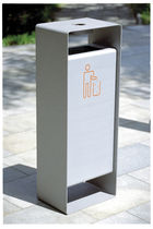 dust-bin for public spaces RADIUM mmcité
