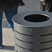 dust-bin for public spaces MARGUERITE ACIER AREA