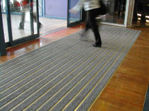 dust control entrance mat for commercial building CLEANLUXE DINAC