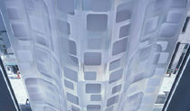 dynamic facade with multilayer panel (metal and glass) CUSTOM SYSTEM by Nikken Sekkei &amp; Yasuda Atelier Adabtive Building Initiative
