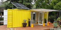 ecological container home C192 NOMAD cargotecture