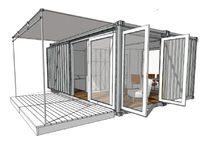 ecological container home C320 LOOKOUT cargotecture