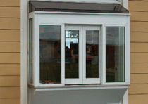 electric aluminium sliding window for commercial buildings  Horton Automatics