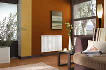 electric inertia radiator with cast-iron brick heating RADIAFONTE II NOIROT