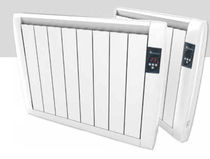 electric inertia radiator with aluminium heating SLIM REX EV CONFORT
