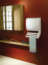 electric towel radiator with fan heater CORELIA NOIROT